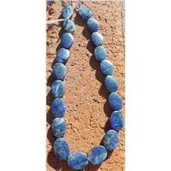String of 20 Lapis Lazuli Cabachons