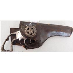 Antique Six Gun & Holster