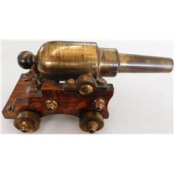 Old Brass Cannon