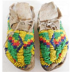 Beaded Plains Childs Moccasins