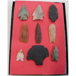 Colorado Paleo Points and Artifacts