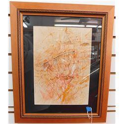 Robert Freeman original watercolor