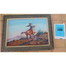 Original Oil Painting by Robert Freeman