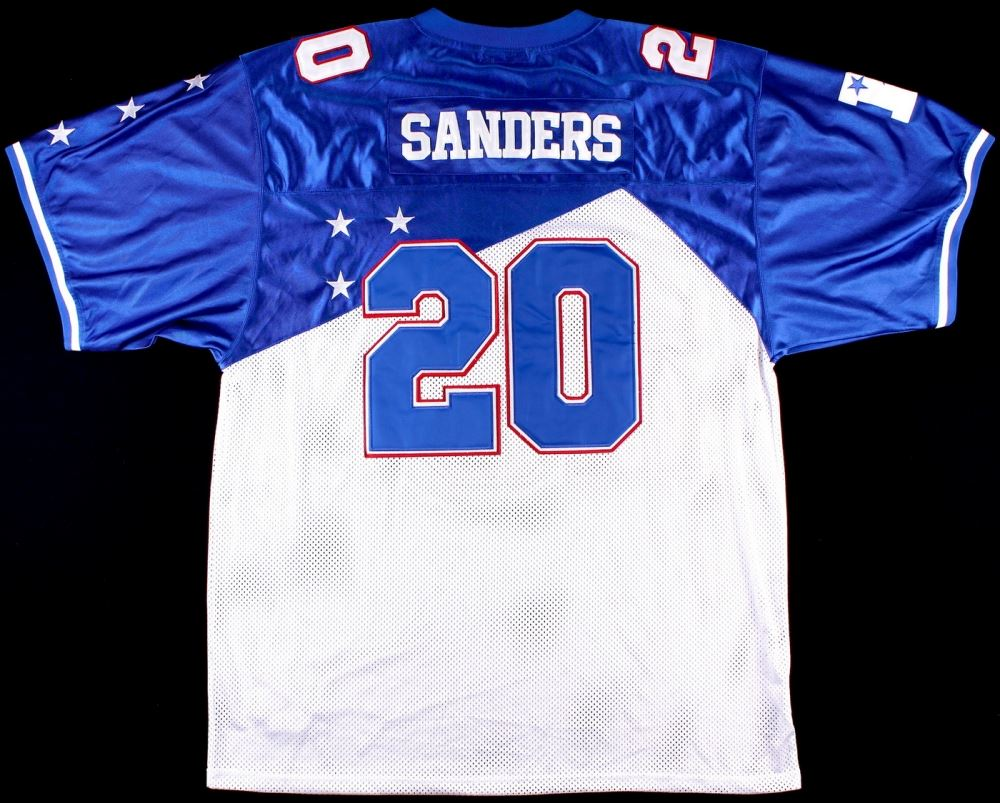 buy online 547bb ef6e9 Barry Sanders Pro Bowl On-Field Style Mitchell & Ness ...