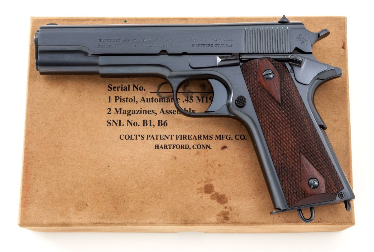Colt Model 1911 Marina Argentina Gov't Model
