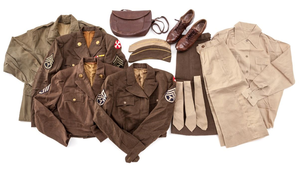WWII U S  Women's Army Corps (WAC) Uniform Group