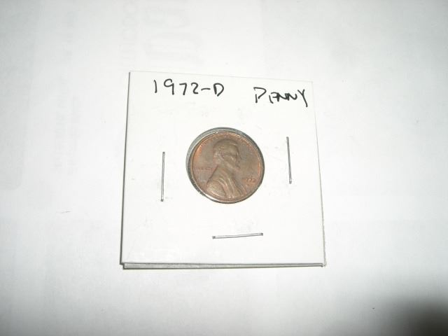 1972-D *DENVER MINT* LINCOLN PENNY *NICE EARLY US