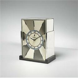 Paul Frankl, Modernique table clock, model #431, Warren Telechron Co., USA, 1928-1932, ch...