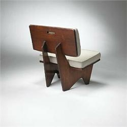 Awesome Frank Lloyd Wright Lounge Chair From The Robert Winn House Theyellowbook Wood Chair Design Ideas Theyellowbookinfo