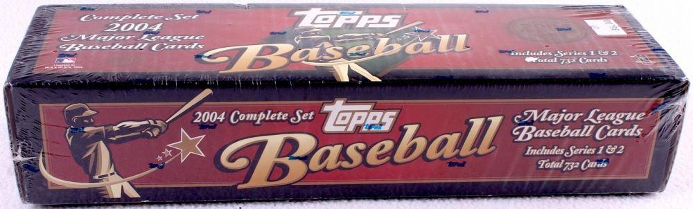2004 Topps Complete Set Of 732 Baseball Cards