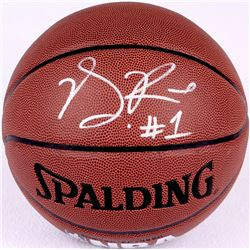 Derrick Rose Signed Basketball (JSA COA)