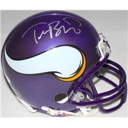Teddy Bridgewater Signed Vikings Mini-Helmet (JSA COA)