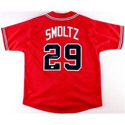 John Smoltz Signed Braves Jersey (JSA COA)