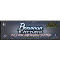 2014 Bowman Chrome Mini Baseball Hobby Box (Set) with (30) Refractor Parallel Cards