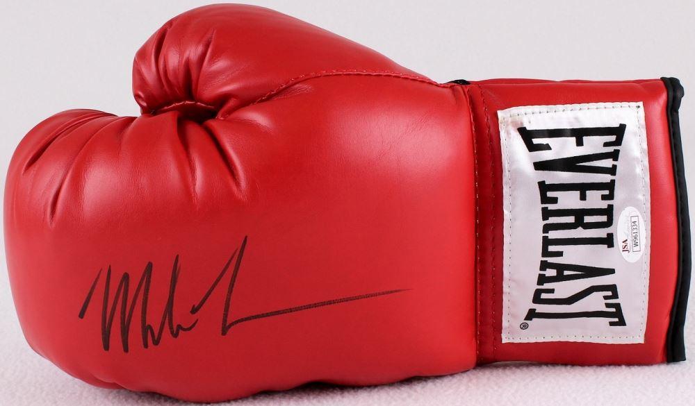d4a140285a3 Image 1   Mike Tyson Signed Everlast Boxing Glove (JSA COA) ...