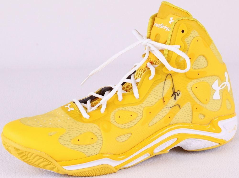1fb7e3cb6095c Stephen Curry Signed Under Armour Signature Basketball Shoe (JSA ...