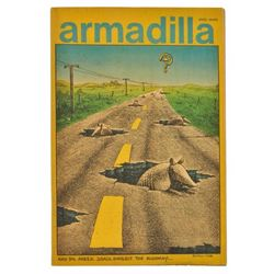 1974 Armadilla Comic #1 With Jim Franklin Cover