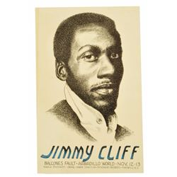 Jimmy Cliff Armadillo World HQ Poster
