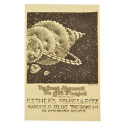 Jim Franklin Esthers Follies PosterThe Ritz Austin