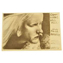 Edgar Winter Armadillo World HQ Concert Poster