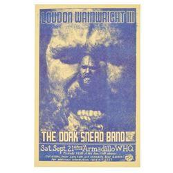 Armadillo World HQ 1974 Loudon Wainwright Poster