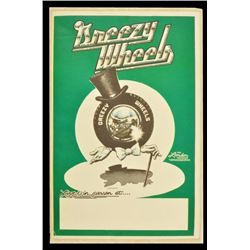 Greezy Wheels Concert Poster by Micael Priest