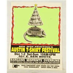 Jim Franklin Austin T-Shirt Festival Poster