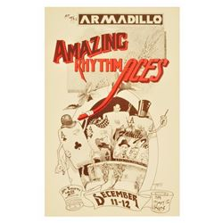 Armadillo World HQ Amazing Rhythm Aces Poster