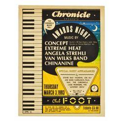 1983 Austin Chronicle Music Awards #1 Poster