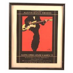 1987 Austin Chronicle Music Awards #5 Poster