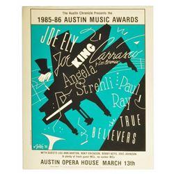 1986 Austin Music Awards #4 Poster 38/125