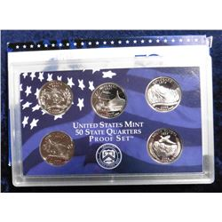 2006 S U.S. Statehood Quarters Proof Set. Original as issued.