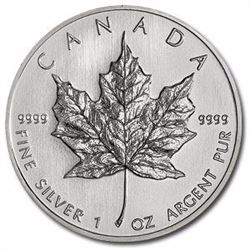 .999 Silver Canadian Maple Leaf Coin