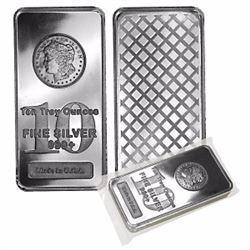 .999 Fine Silver Bar, 10 Ounce