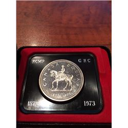 1973 RCMP Canada Dollar UNC