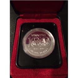 1974 Canada Dollar Winnipeg 100 years BU