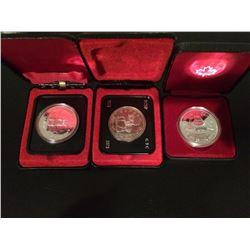 (3) RCM Lot Canada Dollar