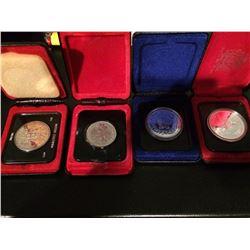 (4) RCM Lot Canada Dollar