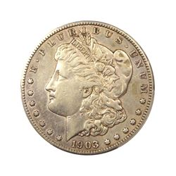 1903 $1 Morgan Silver Dollar XF Raw