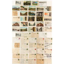 Anaconda Postcard Collection
