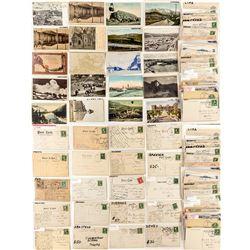 Beaverhead County Postcard / Postal Card Collection