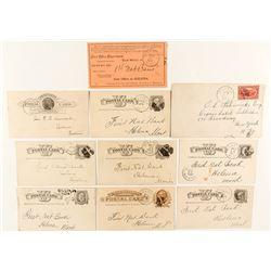 Nine Billings Postal History Pieces