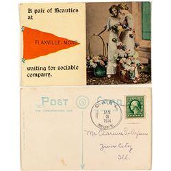 Carl, Daniels, Postcard Postmark
