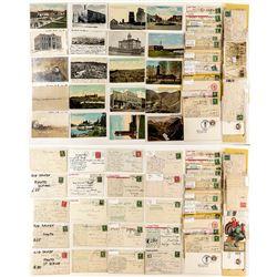 Choutean County Postcard Collection