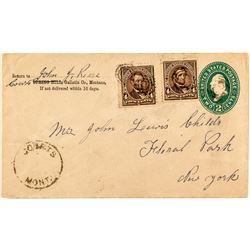 Courts, Montana Territory Cover (Gallatin County)