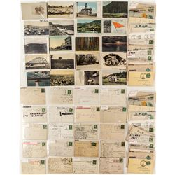 Dawson County Postcards / Postal Cards