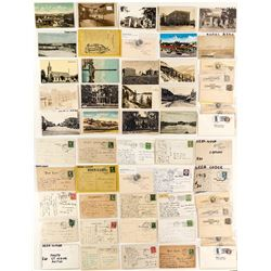 Deer Lodge Postcards