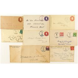Divide, Silver Bow, Postal History Collection