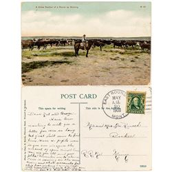 East Roundup Rare Postmark