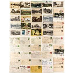 Hamilton Postcard Collection